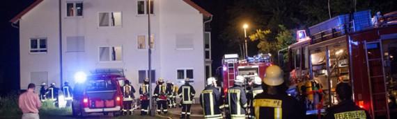 15.06.2012 – Küchenbrand in Geinsheim