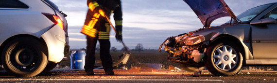 11.01.2012 – Hilfeleistung nach Verkehrsunfall